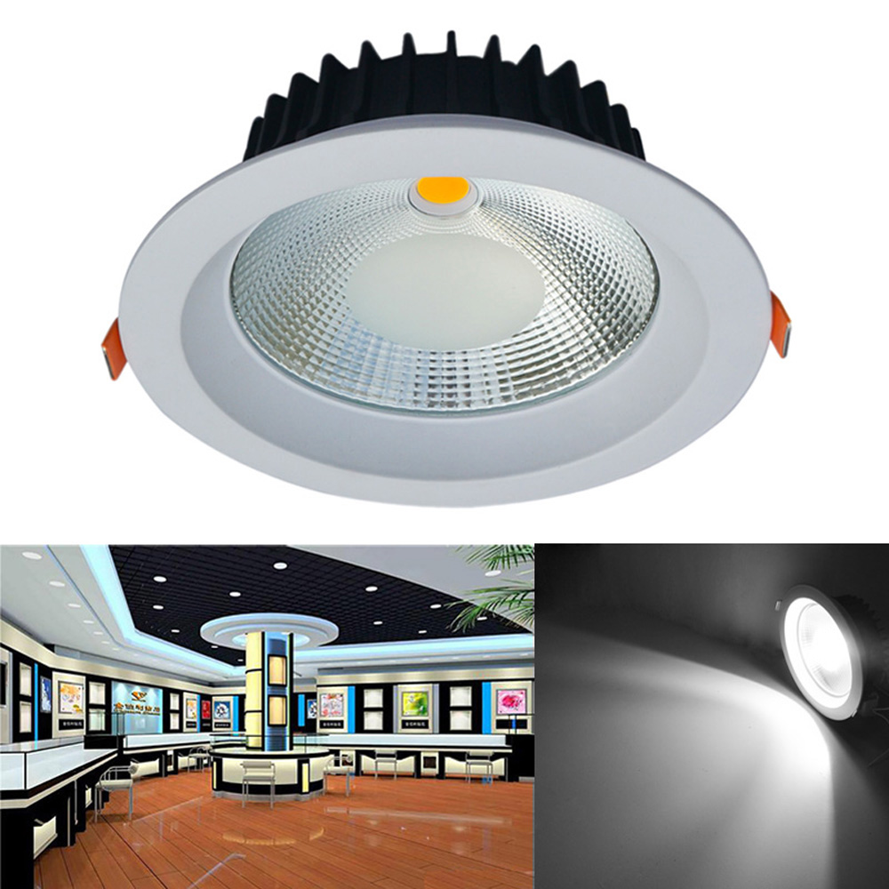 Jiawen 20W Dimmable LED Ceiling Light Anti-glare Embedded Recessed Downlight LED Wall Spot light Down Lamp  AC 85-256V free shipping led european style ceiling light 10w 220v anti glare led meeting room offices hotels homelighting
