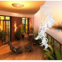 White Feather Dream Catcher Large Wall Hanging Decoration Ornament