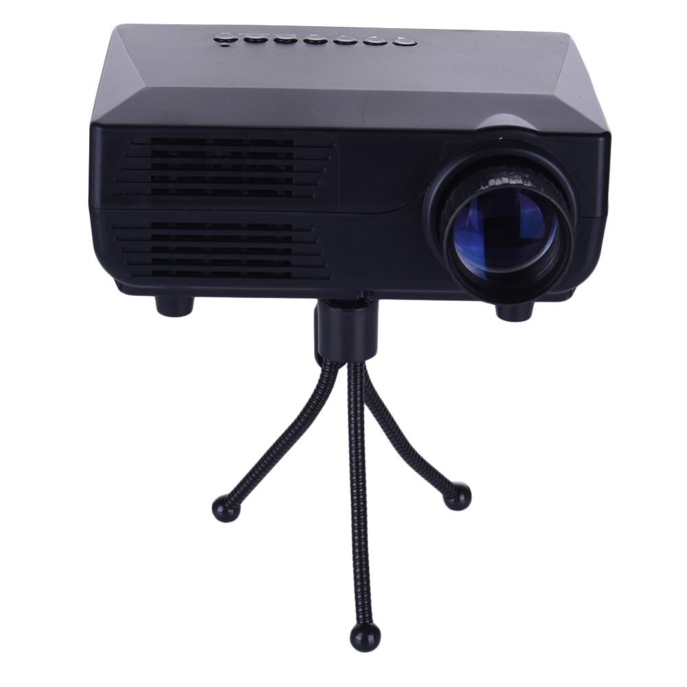 Led projector 1920 1080pixels full hd projeksiyon mini for Small lcd projector reviews
