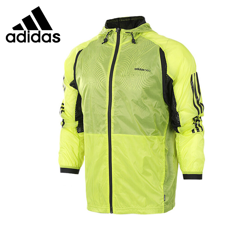 Original New Arrival 2017 Adidas NEO Label M 2-LAYER WB Men's jacket Hooded Sportswear original new arrival official adidas neo label m 2 layer wb men s jacket hooded sportswear