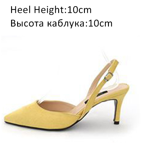 Yellow Shoes 10cm