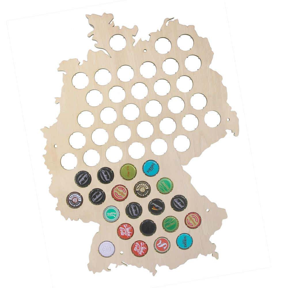 Map Of Deutschland Germany.Detail Feedback Questions About Deutschland Beer Cap Display Map