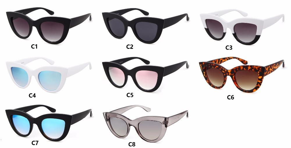 HTB1mfm6RpXXXXXMXXXXq6xXFXXXZ - Women's cat eye sunglasses ladies Plastic Shades quay eyewear brand designer black pink sunglasses PTC 221