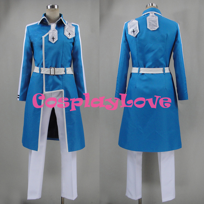 New Custom Made Japanese Anime Sword Art Online SAO Alicization Eugeo Cosplay Costume Christmas Halloween Costumes-in Anime Costumes from Novelty & Special Use    1