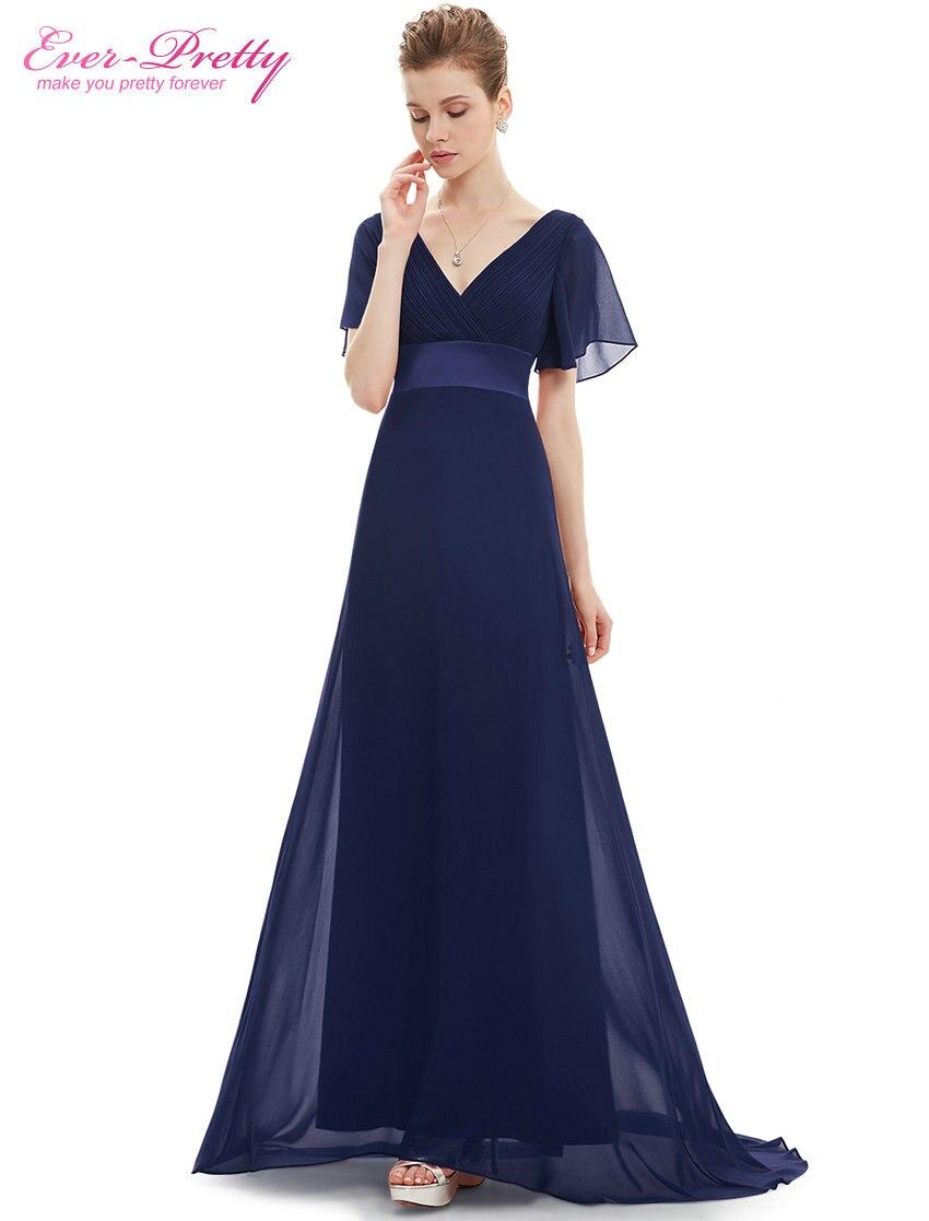 Ever-pretty Us V-neck Long Plus Purple Elegant Mother Of Bride Maxi Dress 09890 Mother Of The Bride