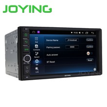 """Joying 7 """"en El Tablero Universal Quad Core 2 Din Android 6.0 Car Audio Estéreo GPS 3G Wifi Bluetooth de Radio (No) Reproductor de CD de Automoción"""