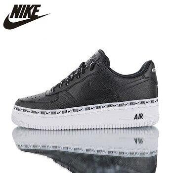 new arrivals da720 3d66d Original oficial Nike Air Force 1  07 SE Premium de las mujeres y de los  hombres zapatos de skate transpirables zapatillas AH6827-002