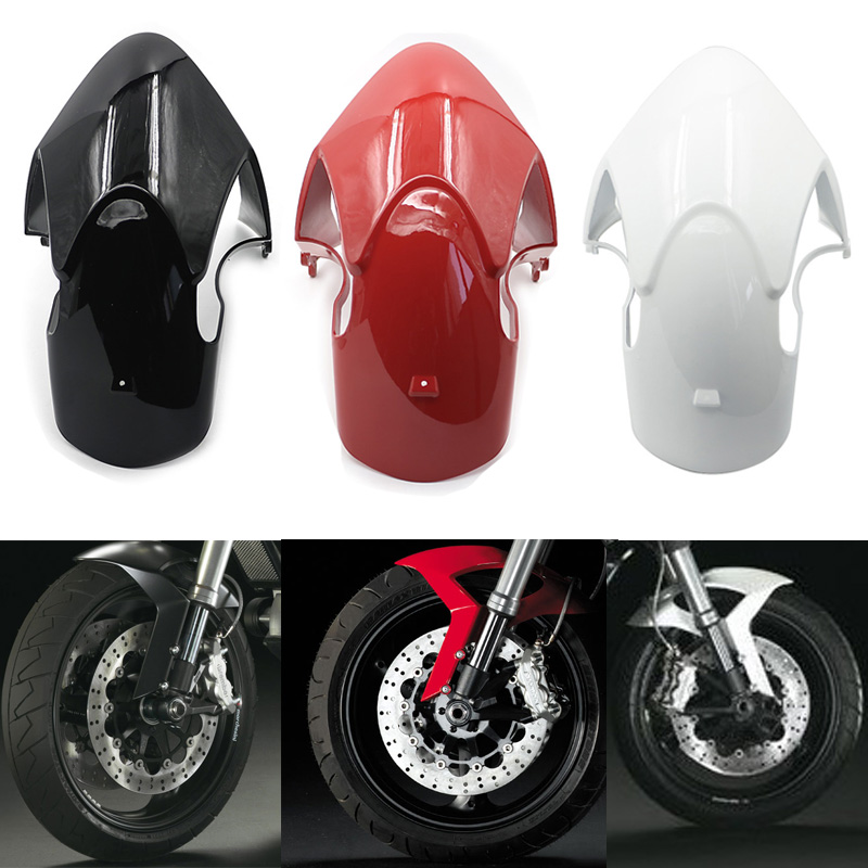 For Ducati Monster 696 08-14 / 796 10-14 Front Tire Wheel Fender Mudguard Mud Guard Mudflap Cover Gloss Fairing Plastic Cowling