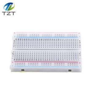 Image 5 - 400 Tie Points Solderless PCB Breadboard Mini Universal Test Protoboard DIY Bread Board Bus Test Circuit Board For arduino