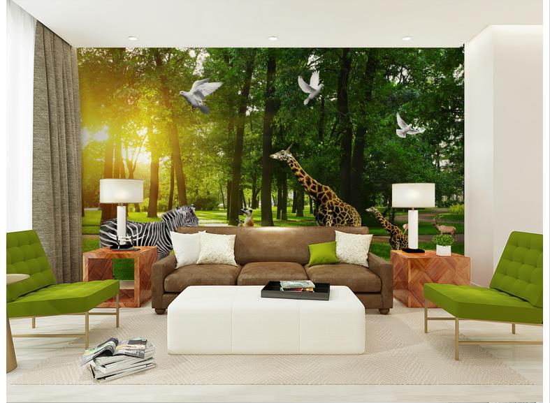 Online Shop 3d Photo Wallpaper Custom 3d Murals Wallpaper Mural Animals Wall  The Wizard Of Oz Forest Background Of The Animal Kingdom Wall | Aliexpress  ... Part 90