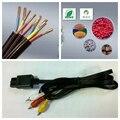 А . в . аудио / видео композитный кабель для Nintendo N64 SNES супер GameCube тв 6FT