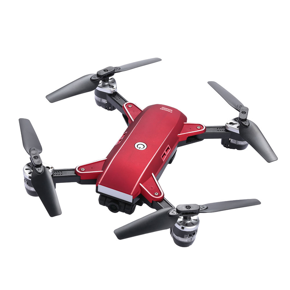 lensoul Foldable 2.4GHz FPV WIFI 2.0MP Camera Drone 3D Flips Altitude Hold Aerial Photography Remote Control Quadcopter Gift