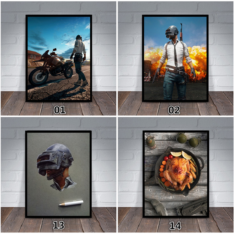3D Wallpaper PUBG Winner Winner Chicken Dinner Photo Frame