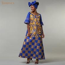 אפריקאי 5XL 2 שמלת