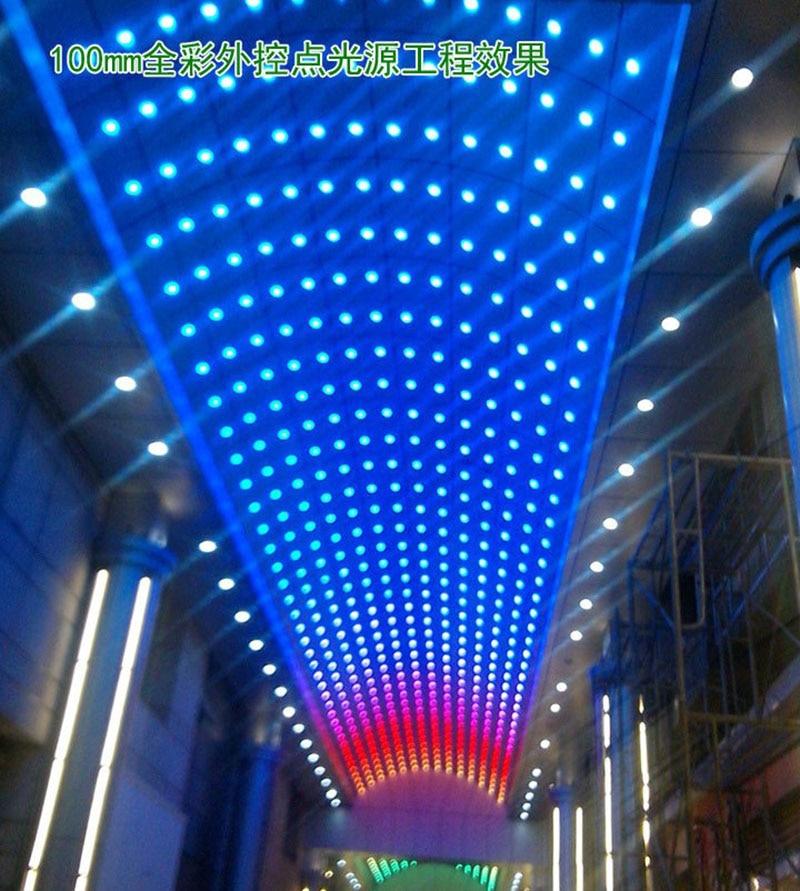 цены RGB LED stage lamp Wall sconce lamp Kara OK, KTV rooms, bars, wedding ceremonies family gatherings Party decoration AC90-260V