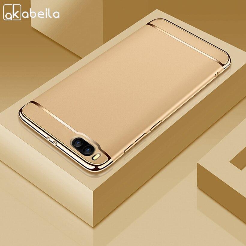 AKABEILA Plating Plastic Case For Xiaomi Mi Note 3 Case Back Cover Coque for Xiaomi Note 3 Mi Note3 5.5 inch Anti-Knock Etui