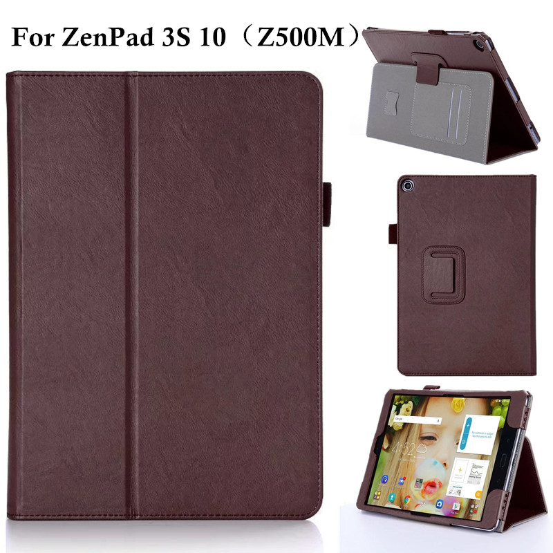 For ASUS Zenpad 3S 10 Z500M PU Leather Stand Cover Case Luxury Tablet Protective Shell Case for ASUS Zenpad 3S Z500M 9.7 asus zenpad 3s 10 lte