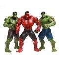1 pcs 25 cm marvel super hero the avengers filme gigante incrível Hulk Figuras de Ação Brinquedos Coleccionáveis PVC Modelo Móvel Menino Vermelho