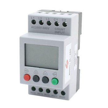 JL-400 LCD Display Phase Failure Sequence Unbalance Protective Relay