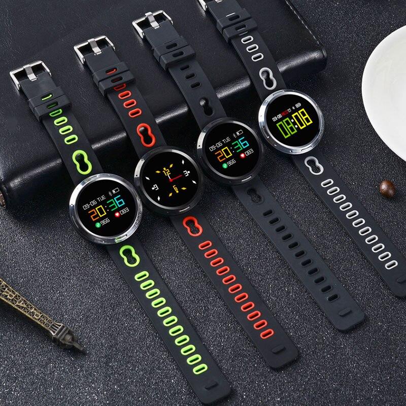 купить Newly 0.95 Inch Smart Bracelet Waterproof Wristband Blood Pressure Oxygen Heart Rate Monitor Fitness Tracker Watch по цене 2142.71 рублей