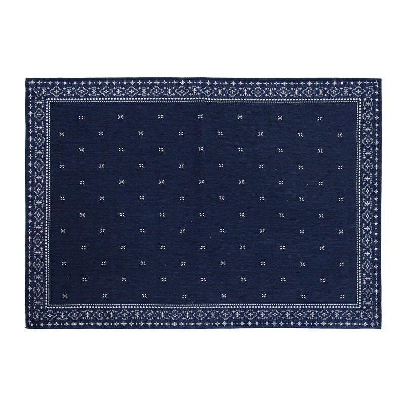 Japanese Floor Carpet Area Rug Large 2 Size185/240cm Futon Mat Portable Tatami Pad Fashion Blue Carpet Living Room Rug Mattress