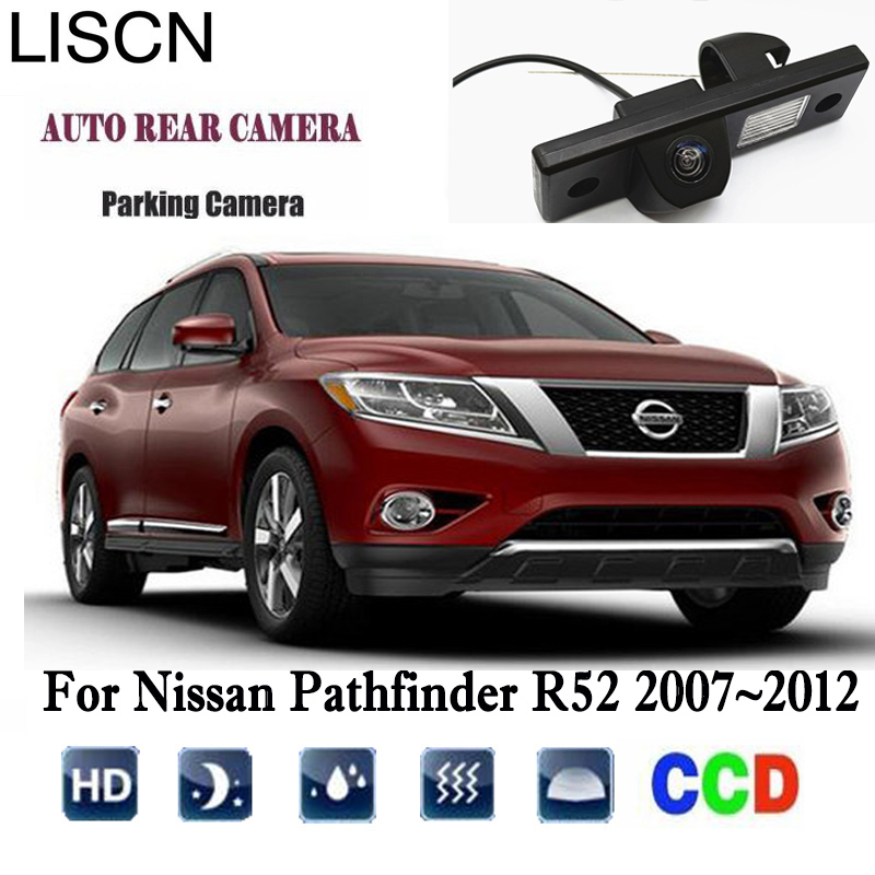 Car Rear View Camera For Nissan Pathfinder R52 2007~2012 Backup camera/license plate Camera/CCD/Night Vision