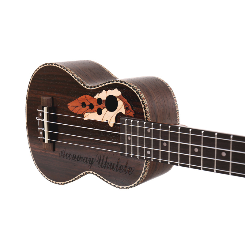 Ukulele Concert 23guitar 4-nylon Strings Mahogany Fingerboard Rosewood 18 Fret Bag Strings Tuner Music Instrument For Beginner Dependable Performance Musical Instruments Sports & Entertainment