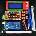 O Envio gratuito de Fábrica vendendo diretamente placa de Controle MEGA2560 R3 LCD2004 A4988 RAMPS 1.4 Placa de Controle do Driver Para 3D Kit de Impressora