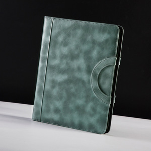 Image 2 - Binder A4 File Folder Document Organizer Manager Padfolio Case Business Office Cabinet Holder Zipper Briefcase Fathers Day Gift