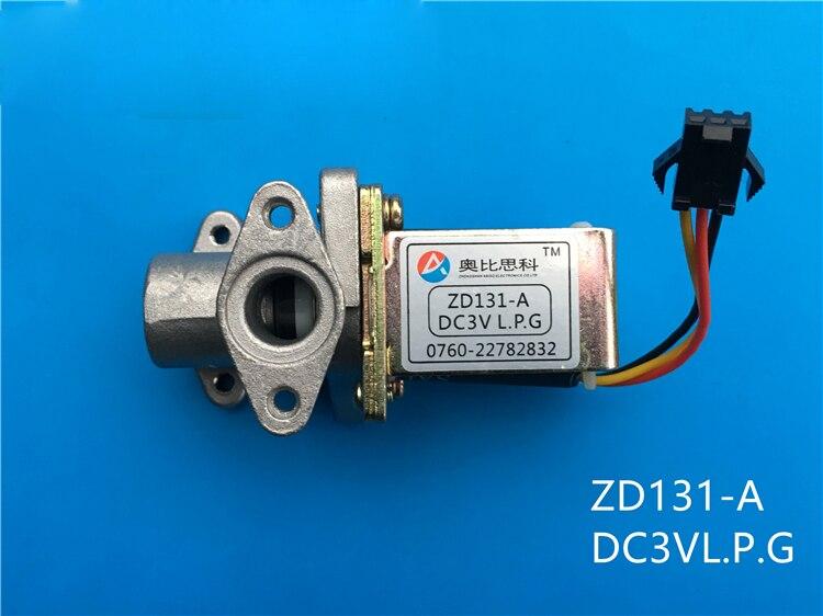 Gas stove fryer solenoid valve solenoid valve Obi CISCO ZD131-A DC3V solenoid valveGas stove fryer solenoid valve solenoid valve Obi CISCO ZD131-A DC3V solenoid valve