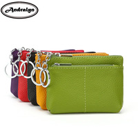 Andralyn Genuine Leather Coin Purse Women Small Wallet Change Purses Children S Pocket Wallets Key Holder