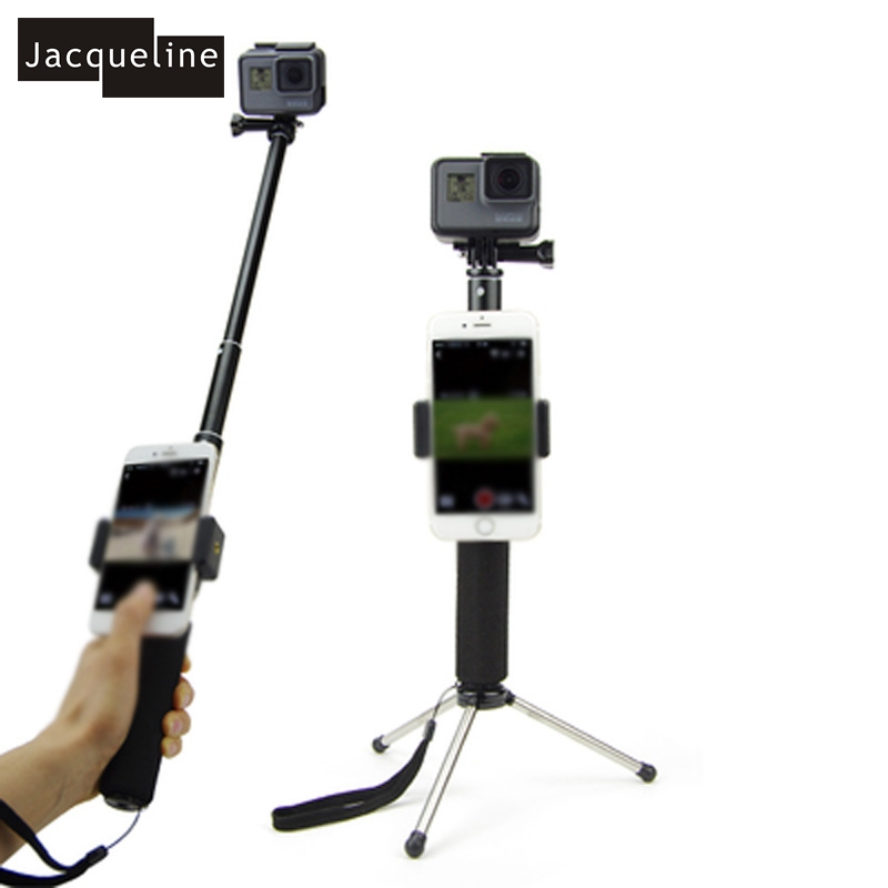 Jacqueline for Accessories Kit Selfie Sticks Monopod for hero Gopro 6 - Kamera dan foto - Foto 3