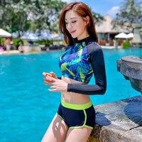 זוג אוהבי בגדי ים בגד ים אנטי Uv מהיר יבש מכנסיים ביקיני סט בגד ים בגד ים השחייה וחוף חוף משפחה