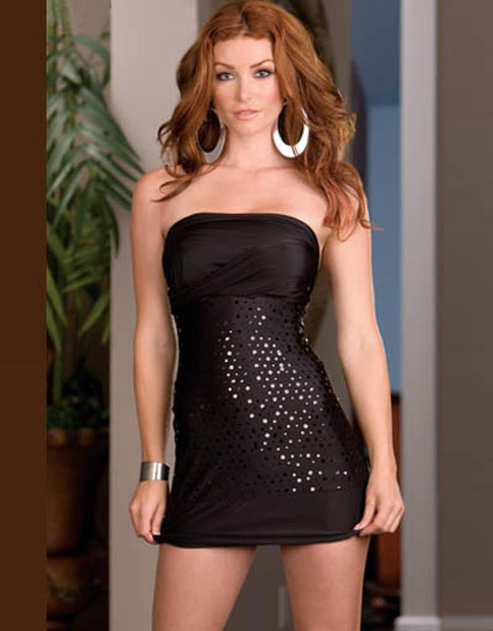Romantic Wrap Dress With Sequin Mini Summer Party Club Night Changeable Black Plunge V Neck Clubwear Sundress Vestido
