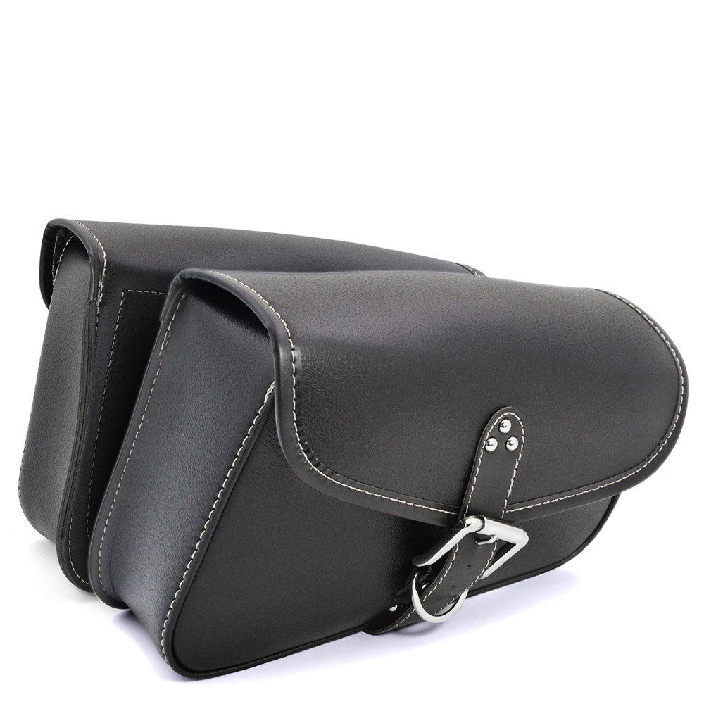 2017 Motorcycle PU Leather Saddlebags Saddle Swingarm Bag Left Right Side Tool Bags Universal For Harley Sportster Chopper Bike motorcycle capacity luagge side bag leather saddle bag dual sport bike chopper