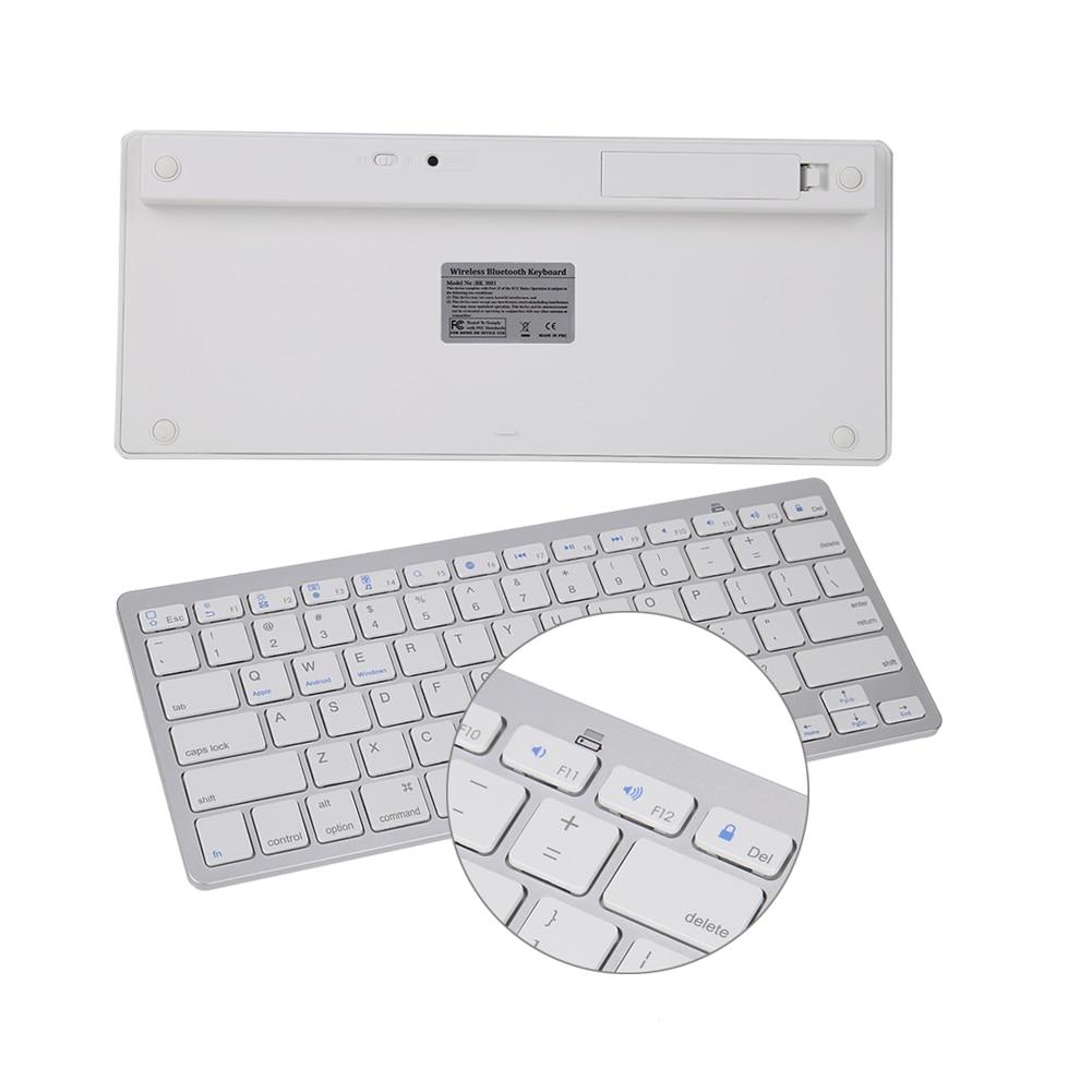 Multimeedia Juhtmeta Bluetooth 3.0 klaviatuur Androidile iOS Tablet - Arvuti välisseadmed - Foto 6