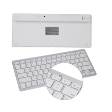 Multimedia Wireless Bluetooth 3.0 Keyboard for Android Windows iOS Tablet PC for Apple iPad 2 3 4 Ipad air 1 2 ipad mini 3