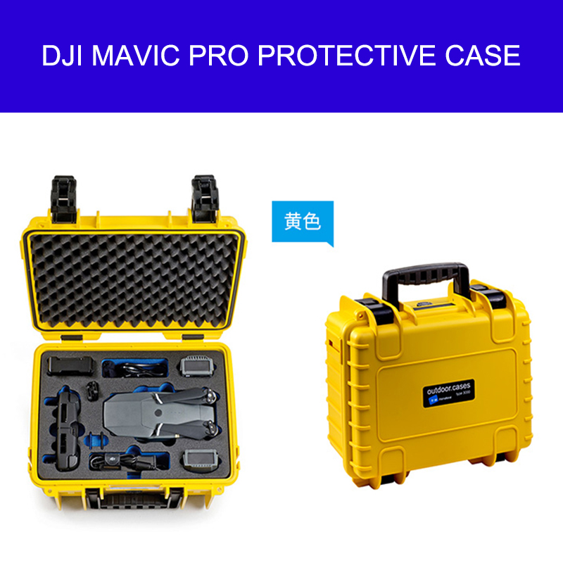 Royal DJI MAVIC PRO Waterproof Case Protective DJI MAVIC PRO BOX Flameproof Box, Portable Safety Kit For DJI