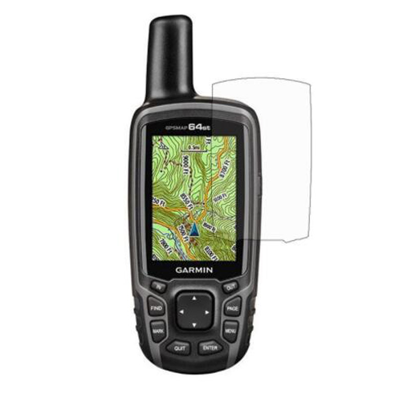 Clear Screen Protector Cover Protective Film For Garmin Astro 430 320 220 GPSMap <font><b>62</b></font> 64 62s 62sc 62st 63sc 64s 64st Handheld GPS image