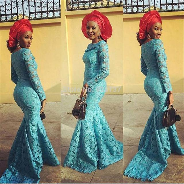 Model de robe dentelle nigeria