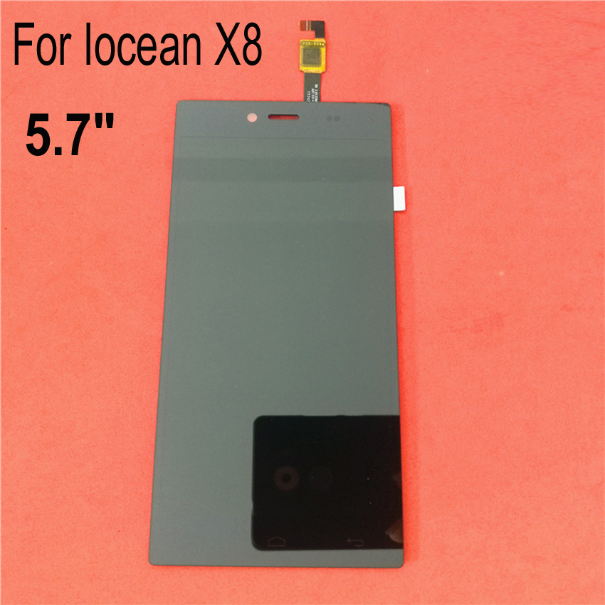5.7 TOP Quality Full LCD Display with Touch Panel Screen Digitizer Assembly For Iocean X8 Repair Replacement Parts