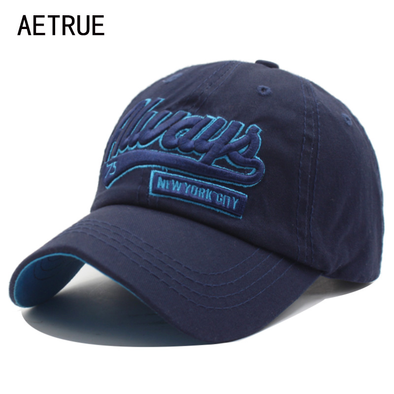 AETRUE Fashion Men Snapback Casquette Women Baseball Cap Dad Brand Bone trucker Hats For Men Gorras Casual Embroidered Hat Caps fashion solid color baseball cap for men and women