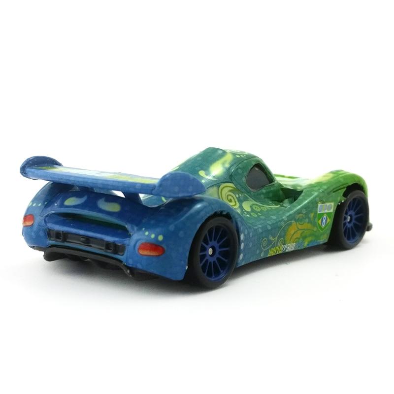 Voiture Disney Pixar Cars 2 Carla Veloso 1//55 DieCast