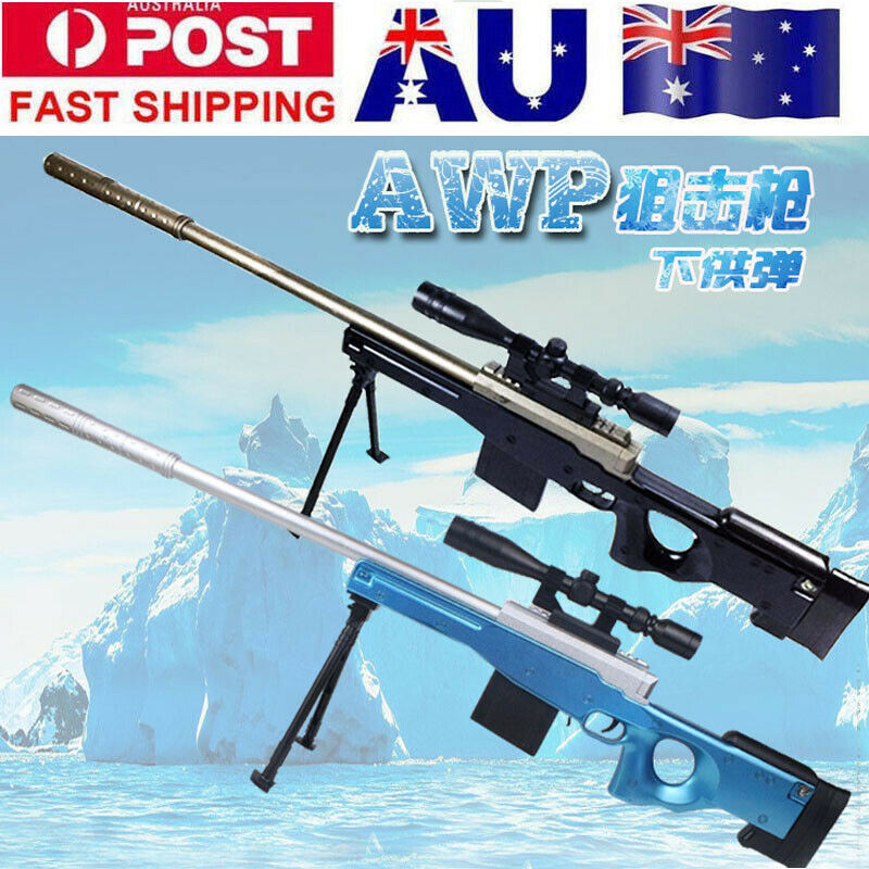 Zhenduo Jouet Manuel AWM Sniper Gel Boule Blaster Mag-nourris D'eau Balles Dart Jouet Fusil AU Stock