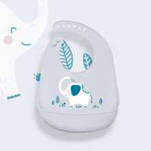 Детские нагрудники из водонепроницаемого силикона, Слюнявчики для кормления, полотенца для новорожденных, Мультяшные фартуки, детские нагрудники, регулируемые Слюнявчики, бандана