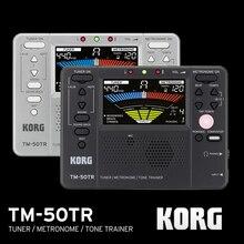 Korg TM50TR TM 50TR Đa Năng Dụng Cụ Bắt Sóng/Huấn Luyện Máy Đánh Nhịp Metronome/Tone Huấn Luyện Định Kỳ Máy Nhịp Với Màn Hình LCD Màu Cho Vionlin, sax