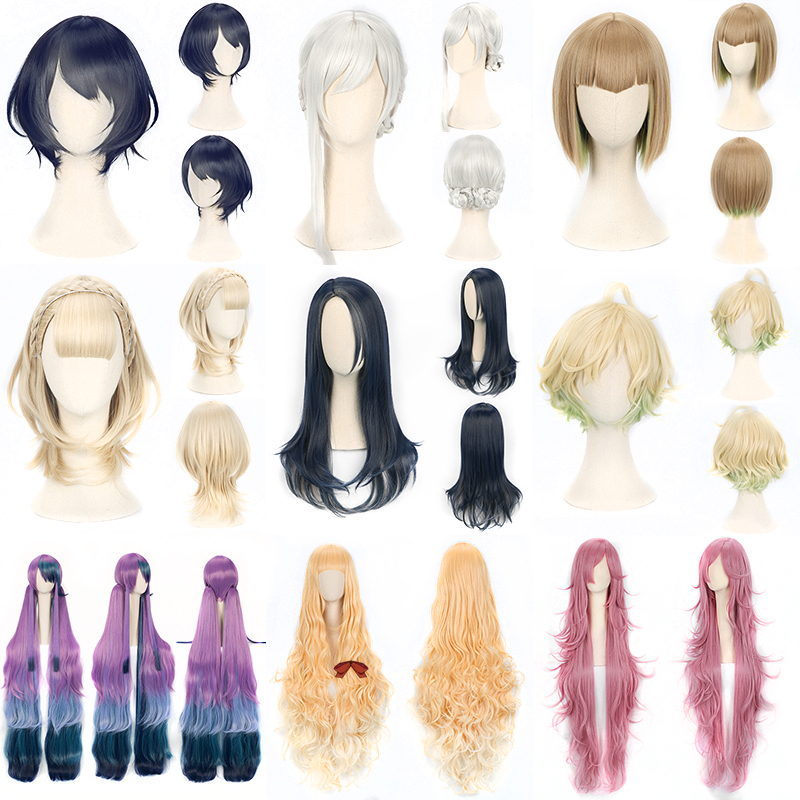 ccutoo 30cm Μπλε Short Ombre Mix Συνθετικά μαλλιά - Συνθετικά μαλλιά - Φωτογραφία 2