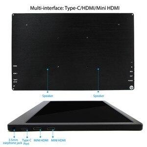 Image 4 - Elecrow IPS TFT LCD 13.3 بوصة 1920x1080 HDMI المحمولة عرض ل التوت بي/PS4/XBOX/NS مراقب المباراة سمك 8 مللي متر