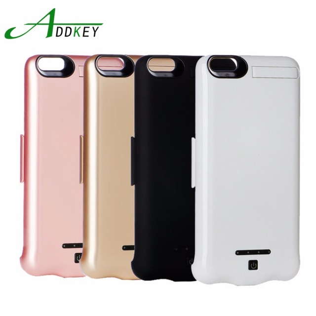 ADDKEY 10000mAh battery Charger Case for Iphone7 Wireless Charge Back Clip Battery for Iphone 7 Plus Mobile Phone Power Charger