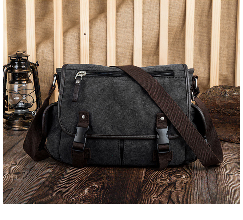 HTB1mftTVbrpK1RjSZTEq6AWAVXad Vintage Men's Briefcases Shoulder Bag Travel Crossbody Bags Causal Canvas Messenger Bag Patchwork Multi-function Laptop XA237ZC